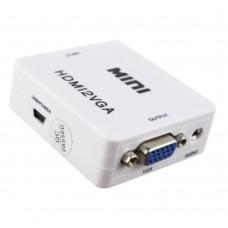 HDMI į VGA 720/1080P konverteris