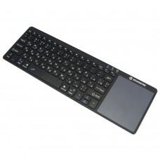 Klaviatūra su jutiklinių pelės valdikliu Zoweetek K12BT-1 EN/RU