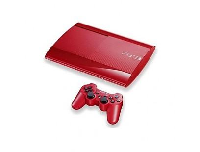 Sony PS3 super slim 320GB + 1 žaidimai