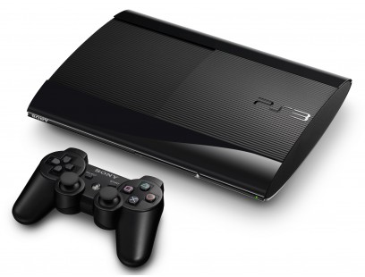 Sony PS3 super slim 500GB + žaidimai